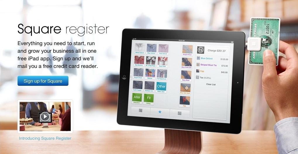 Square-Register