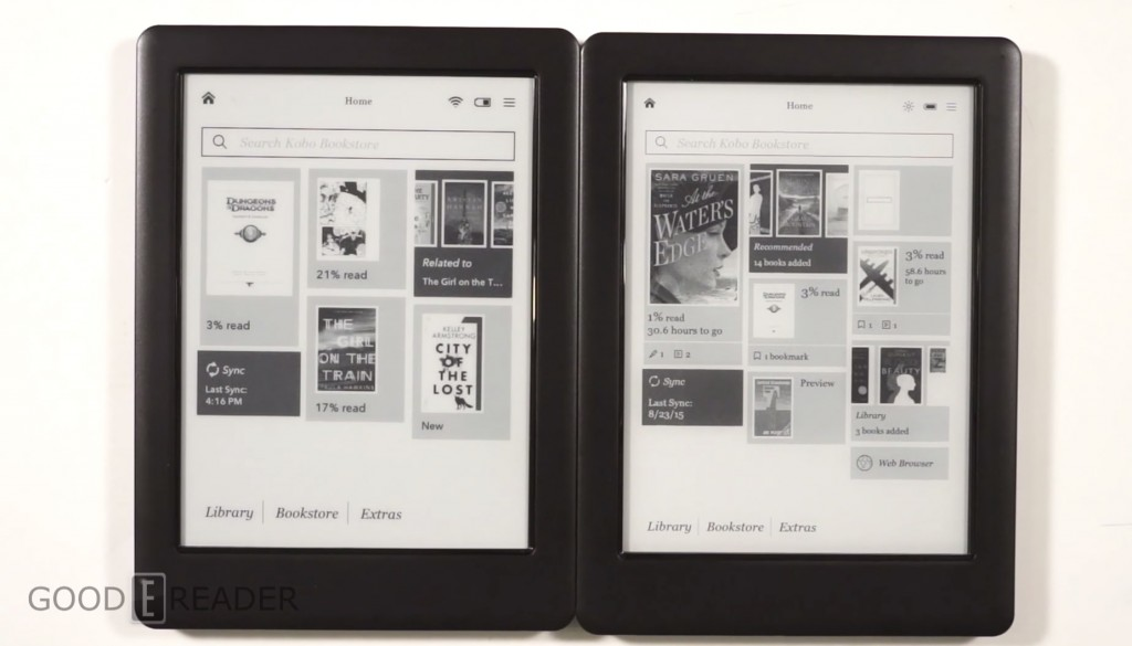 Kobo Touch 2.0 and Kobo Glo HD