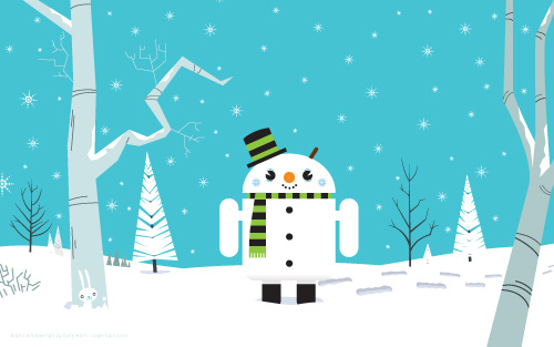 android-snowman1