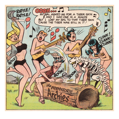 archie-comics-retro-the-archies-comic-panel-the-prehistoric-archies-aged