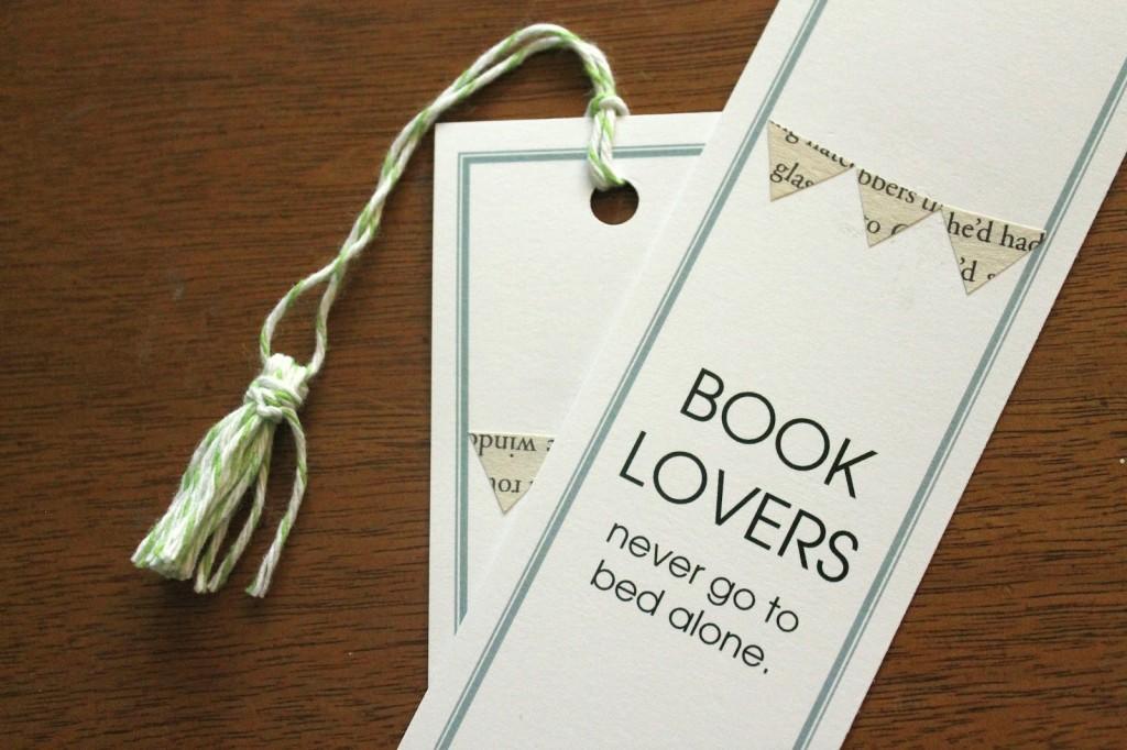 book shower favors