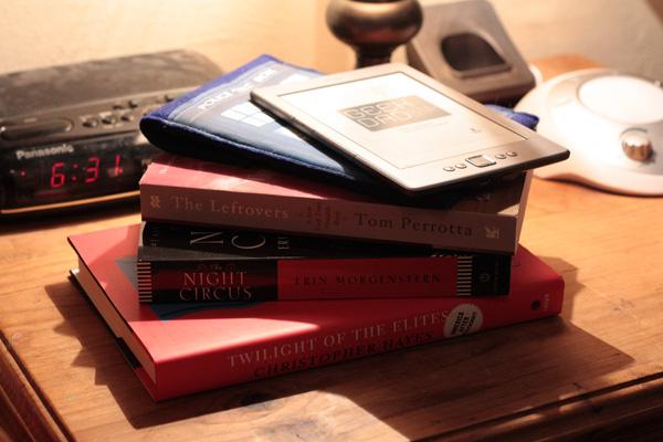 books and ereader