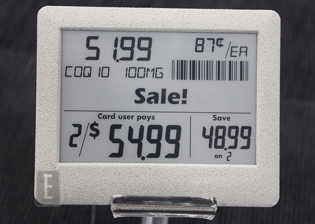 e-paper price tagh