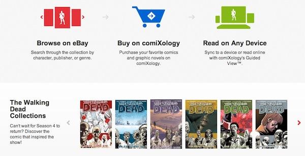 eBay comics