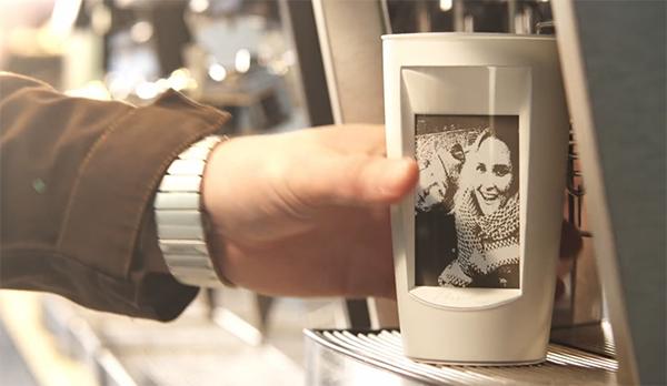 eink coffee mug