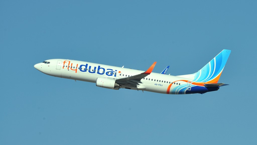 flydubai-aircraft-in-flight