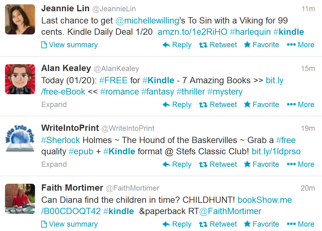 Twitter Rewards Spamming In Authors