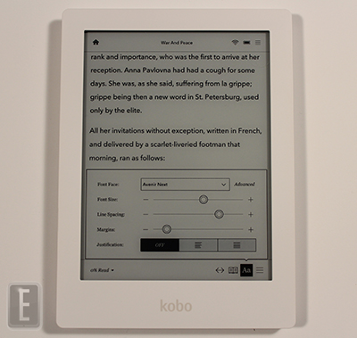 kobo aura hd ebooks