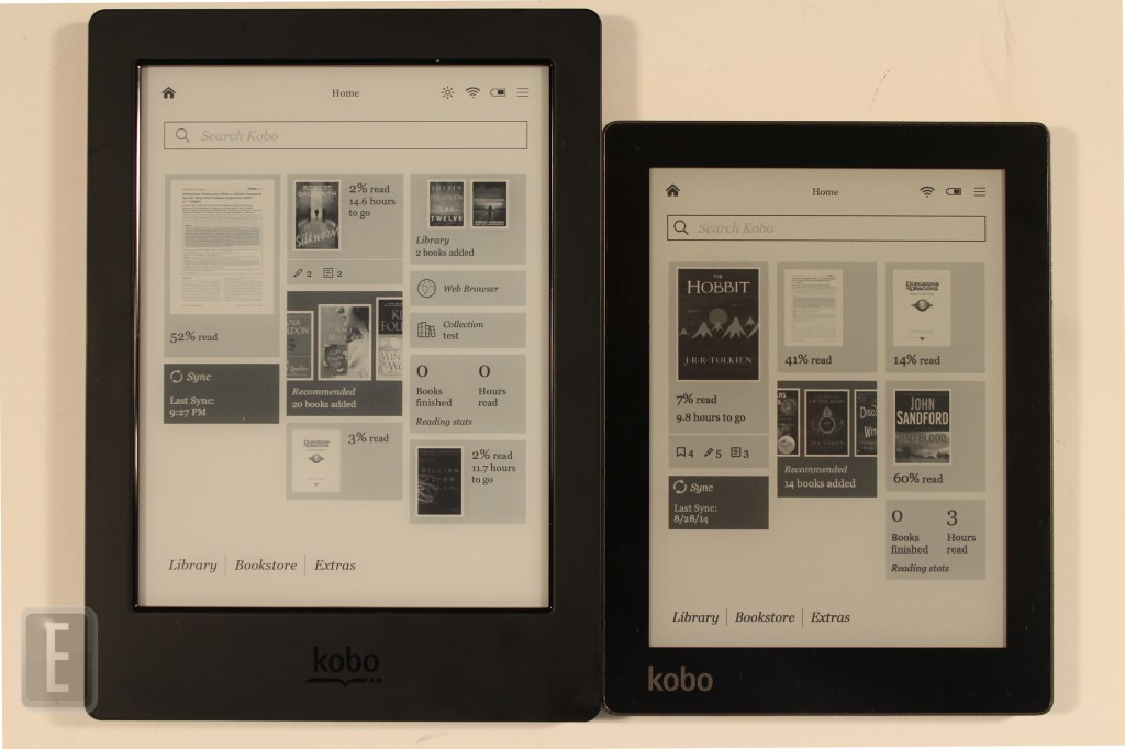 Kobo aura h20 vs the kobo aura for Housse kobo aura h2o edition 2