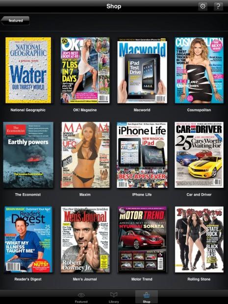 magazine-deck