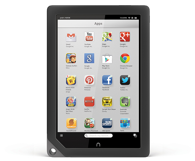 nook hd google play