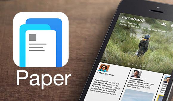 paper-facebook-app