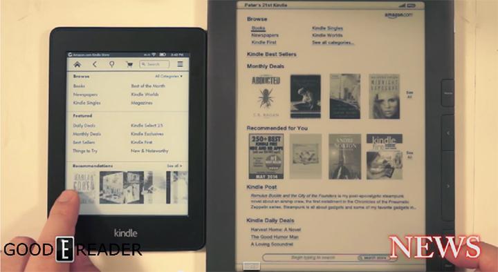 Amazon Kindle DX vs Amazon Kindle Paperwhite 2