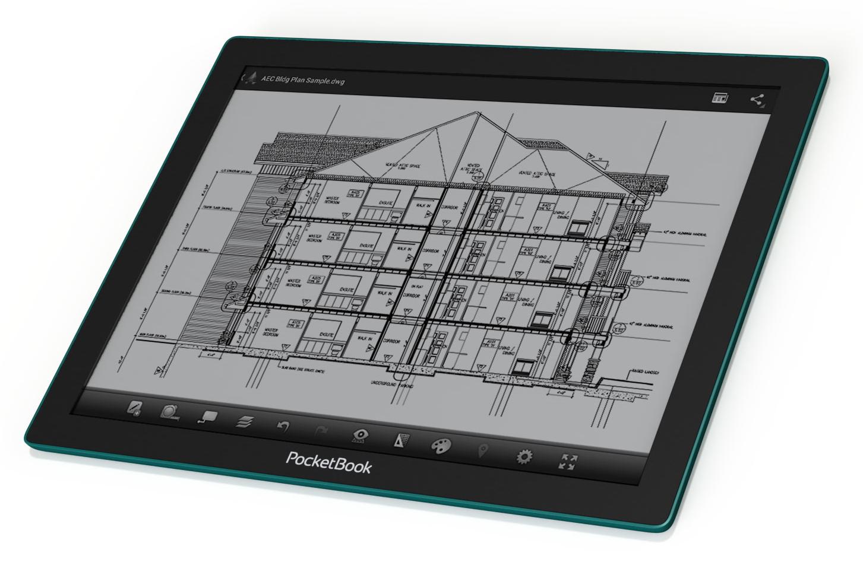 New PocketBook CAD Reader Announced