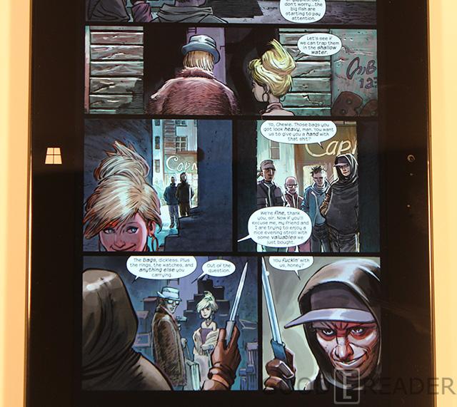 comics surface pro
