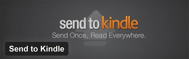 send to kindle wordpress