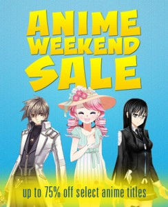 steam anime weekend sale