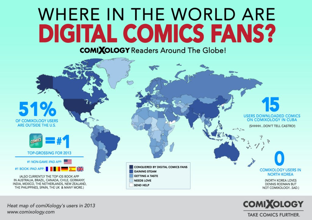 where in the world are comixoligy users